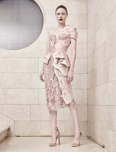 Atelier Versace Autumn Winter 2017 Haute Couture - Look 14