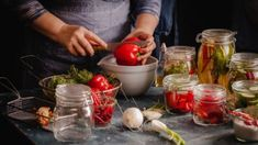 Making these at-home recipes will also give you something fun and positive to focus on while stuck at home. Canning Tips, Home Canning, Halloumi Burger, High Acid Foods, Salsa Marinara, Food Spoilage, Low Acid Recipes, Acidic Foods, Food Categories