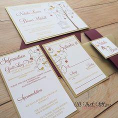 Lovebird and Birdcage Wedding Invitation Simple by ATGInvitations