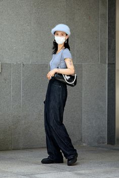 Kpop Fashion, Cute Fashion, Fashion Women, Fashion Brands, Korean Street Fashion, Asian Fashion, Chic Outfits, Fashion Outfits, Street Style Women