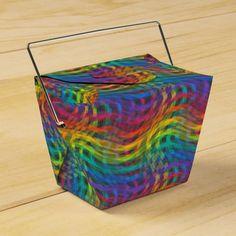 A Bumpy Rainbow Favor Box