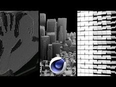 Cinema 4D - Creating Different Effects using Effectors and the Cloner Object Tutorial