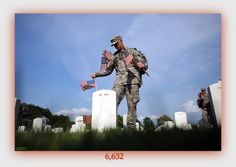 March 3, 2013 Total Combined Casualties for OIF, OND, and OEF stands at 6,632