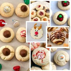 5 Ingredient Shortbread Thumbprint Cookies the perfect dough for making classic cookies! Best of all there's NO spreading or CHILLING required 7 fun ways!