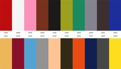 Corbusier Colors <3