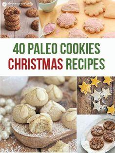 These are the best Paleo Christmas cookie recipes out there, you're going to want to try them all and you better leave some for Santa too.
