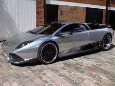 A Chromed Out Lamborghini Gallardo