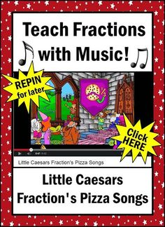 How to teach fractions to third grade students? Teach them with music!