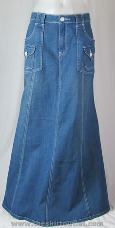 a bit outdated, and a little hippy-ish, but no one can say BOO to me when ive got a good Long Jean Skirt