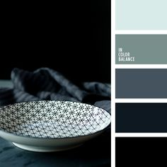 Цветовая палитра №4229 Warm Color Schemes, Color Schemes Colour Palettes, House Color Schemes, Warm Colors, House Colors, Black Color Palette, Blue Black Color, Blue Colour Palette, Blue Green