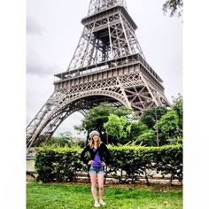 Today I officially booked my first international solo trip! To celebrate, here's a #throwback to 19 year old Mel in daisy dukes and a beret #classy 🌍✌🏻️✈️ #paris #eiffeltower #toureiffel #france #eurotrip #2012 #girlslovetravel #glt #wanderlust #travel #travelgram #adventureisoutthere #soloadventures #selfcaresaturday #ijustmadethatup by adventuremel. adventureisoutthere #selfcaresaturday #2012 #paris #ijustmadethatup #classy #glt #eurotrip #france #travel #soloadventures #toureiffel…