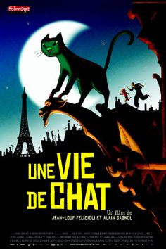 "A Cat in Paris (AKA ""Une vie de chat,"" from France)"