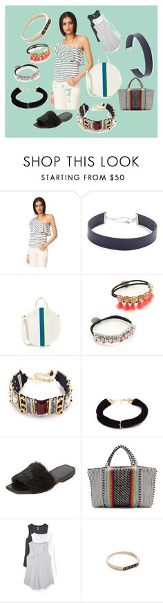 """""""casual comfort"""" by monica022 ❤ liked on Polyvore featuring Splendid, Jennifer Zeuner, Clare V., Deepa Gurnani, Nocturne, Elizabeth and James, Parme Marin, Antonello, Z Supply and Nora Kogan"""