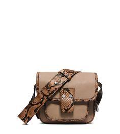 Taylor Small Leather Messenger | Michael Kors
