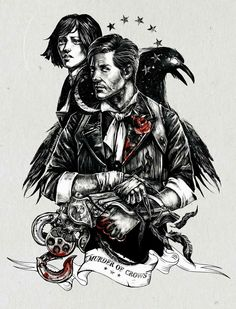 Lovely Murder of Crows fan art by @TanyaAnor at (link: http://justanor.deviantart.com/) justanor.deviantart.com
