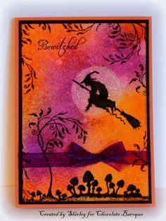 Paper Creations by Shirley: Bewitched Moonlight