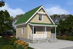 Картинки по запросу простые проекты одноэтажных домов с мансардой 8 на 10