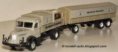 Mein Blog über Modellautos: Grell Modell LKW Lastwagen Anhänger Alpirsbacher Klosterbräu Decals China