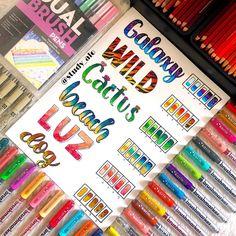 Bullet Journal Lettering, Bullet Journal Banner, Bullet Journal Notes, Bullet Journal School, Bullet Journal Aesthetic, Bullet Journal Ideas Pages, Hand Lettering Alphabet, Chalk Lettering, Lettering Design