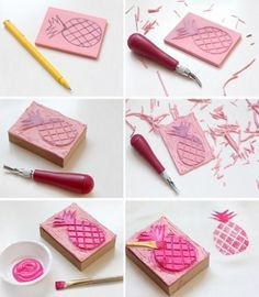 Pinterest the world s catalog of ideas for Como hacer sellos