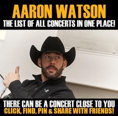 Aaron Watson in your city! Concerts dates & tickets. #music, #show, #concerts, #events, #tickets, #Aaron Watson, #rock, #tix, #songs, #festival, #artists, #musicians, #popular,  Aaron Watson