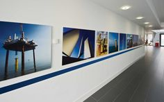 London Array interior branding | Michon Creative