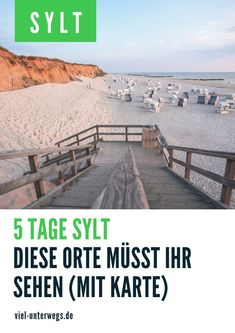 Sylt Urlaub: Sights & Sylt tips from List to Hörnum - We show you the most beautiful places on Sylt. You can see them on 5 days short vacation. Short Vacation, Vacation Places, Europe Travel Tips, Travel Destinations, Europe Continent, Living In Europe, Historical Monuments, Types Of Photography, Travel Quotes