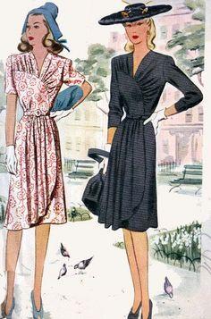 Старинные картины 40-х Швейные Макколл 4779 Лучший по sandritocat на Etsy, $ 38.00:
