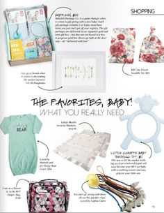 We always LOVE to see our products featured, especially when it's a feature on things moms really need! Thanks @cupcakemag for the feature!