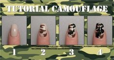 Awesome tutorials. In French, but the picture tutorials suffice. Besides, nail art is the same in every language! -VJ