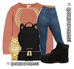 """""""3005!"""" by royaldopeness ❤ liked on Polyvore featuring Brunello Cucinelli, Yves Saint Laurent, MICHAEL Michael Kors, Juicy Couture and Timberland"""