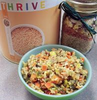 Southwestern Rice Pilaf recipe: great gift in a jar idea!