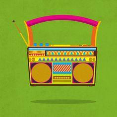 Chumbak-Wall art Design on Behance - Cars World Fabric Canvas Art, Diy Canvas Art, Diy Wall Art, Wall Decor, Indian Illustration, Camera Illustration, Illustration Styles, Art Illustrations, Indian Art Paintings