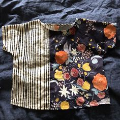 Had time to finish the bias binding on both these shirts during my kids' afternoon naps  A No. 1 shirt from 100 Acts of Sewing and a cropped Willow Tank from Grainline Studio. Both made from Nani Iro cotton sateen. #naniiro #willowtank #no1shirt #100actsofsewing #grainlinestudiocarlysews100actsofsewing,willowtank,no1shirt,naniiro,grainlinestudio
