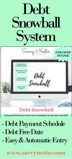 Debt snowball excel excel debt payoff excel credit card credit - Financial Spreadsheet For Small Business