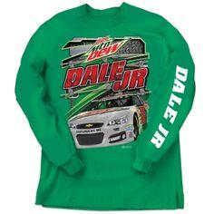 Dale Jr. Long Sleeve Tee | Raceline Direct