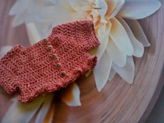 The Anarchist Knitter: Primavera - Ruffle Shrug for Babies free pattern