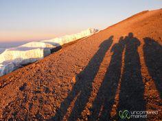 Shadows and Glaciers - Mt. Kilimanjaro, Tanzania