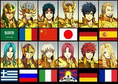 Saint Seiya: Aparecen los nuevos Caballeros Dorados