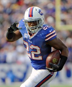#22 RB Fred Jackson