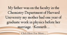 Kenneth G. Wilson Quotes About Marriage - 44836