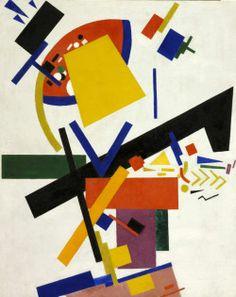 Kazimir Malevich (russo, nato Ucraina, 1878-1935) Suprematismo, 1915 Olio su tela