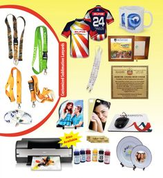 We also undertake various sublimation printing jobs that include ceramic mugs, plates, metal signs, T-shirts, Mousepads, Wooden Plaques, Ceramic Tiles, Phone Covers, Sublimation Rocks, Lanyards and shawls.