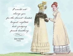 I Would Not Change You - Jane Austen Note Cards