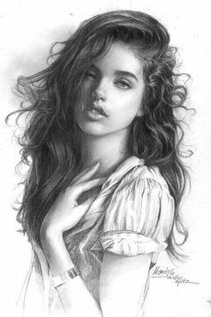 Trilling Exercises To Get Better At Drawing Ideas. Astounding Exercises To Get Better At Drawing Ideas. Pencil Portrait Drawing, Realistic Pencil Drawings, Sexy Drawings, Graphite Drawings, Amazing Drawings, Pencil Art Drawings, Art Drawings Sketches, Painting & Drawing, Charcoal Drawings
