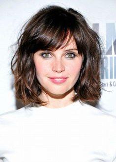 cabelo curto com franja - Pesquisa Google