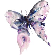 Water Colour Butterfly