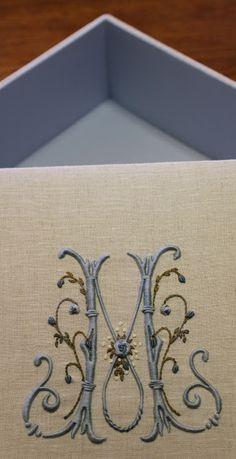 Elisabetta ricami a mano: Cucire scatole a Valdagno