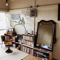 Workspace Design, Boy Decor, Cozy Room, Japanese House, Loft Spaces, Mid Century Furniture, Girl Room, Room Inspiration, Furniture Design