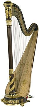 Lyon and Healy Prince William Special Instrument Concert Grand. LOVE ebony and gold. $79,000.